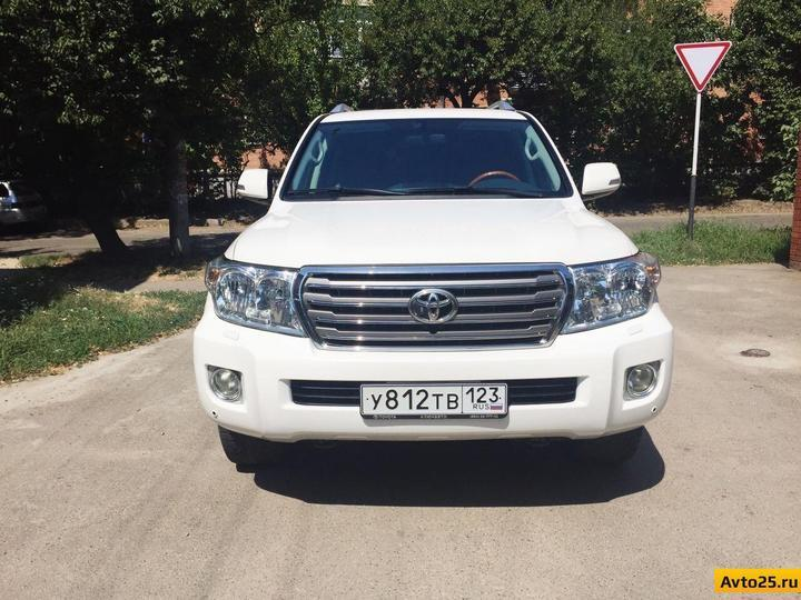 Краснодар Toyota Land Cruiser 2012 2490000